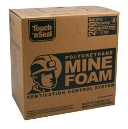 Mine Foam Mine Ventilation Control System Touch N Seal